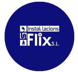 instal·lacions flix blau